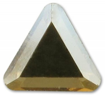 2711 Triangle, 6mm, Crystal Golden Shadow (001 GSHA)