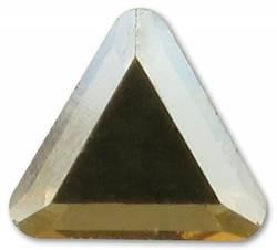 2711 Triangle, 6mm, Crystal Golden Shadow (001 GSHA)