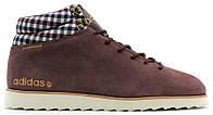 Мужские кроссовки Adidas NEO Rugged (Адидас) коричневые