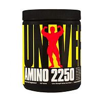 Аминокислоты Universal Nutrition - Amino 2250 pure/без вкуса (чистый), (180 таб)
