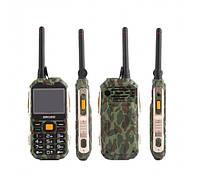 Защищенный телефон Grsed E8800 Camouflage ip67 рация 8800 мАч