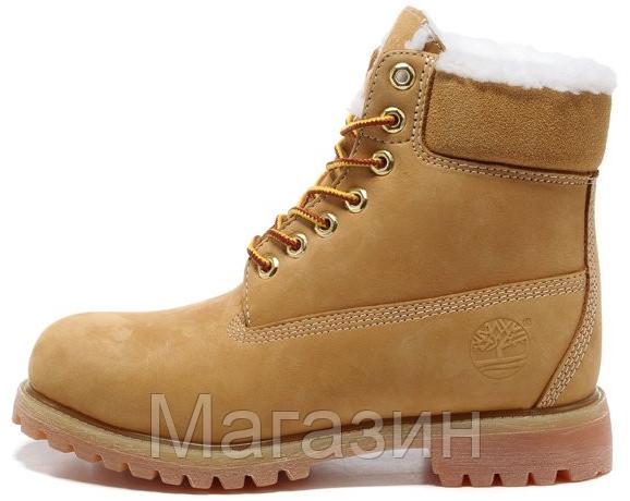 Женские зимние ботинки Classic Timberland 6 inch