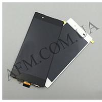 Дисплей (LCD) Sony E6533 Xperia Z3+ DS/  E6553/  Xperia Z4 с сенсором белый оригинал