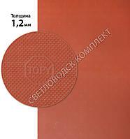 ТОПИ, TOPY, р. 400*600*1.2 мм, цв. красный - резина подметочная/профилактика листовая