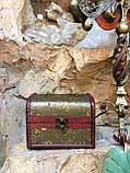 Шкатулка, сундучок декоративный (15х11х11 см.), фото 3