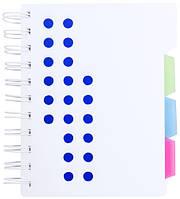 Блокнот с разделительными страницами, фото 1