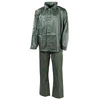 Дождевой костюм (M) тёмно-зелёный, полиэстер MFH 08301B