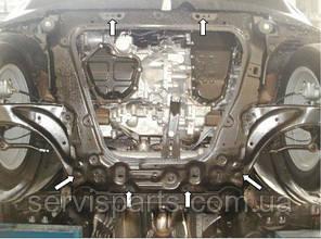 Защита двигателя Nissan Juke 2011- (Ниссан Жук), фото 2