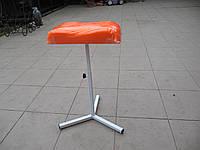 Подставка для педикюра маленькая ПРОИЗВОДСТВО УКРАИНА (НЕ КИТАЙ) ярко оранжевая