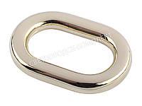 Кольцо сумочное, цв. белое золото, 4025, фото 1