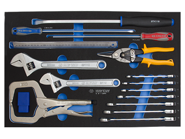 24PC.COMBINATION WRENCH SET FOR TOOL CHEST(EVE)