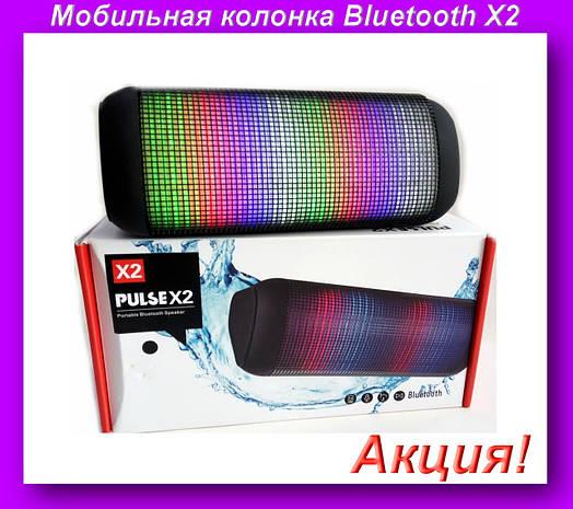Мобильная колонка Bluetooth X2,Мобильная колонка Bluetooth!Акция