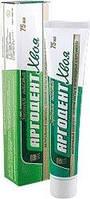 Зубная паста Аргодент хвоя 75 мл (натуральный комплекс из хвои, хлорофилла, пародонтоз, кровоточивость десен)