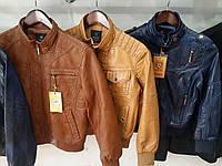 Подростковые модные куртки кож.зам  оптом от 10 ростовок, фото 1