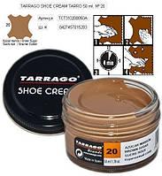 Крем для гладкой кожи Tarrago Shoe Cream, 50 мл, цв. коричневый сахар