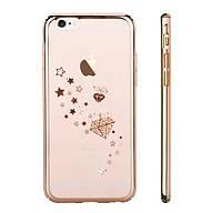 Чехол-накладка для iPhone 6/6s Devia Crystal Starry