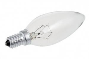 Лампа свечеобразная для вытяжки Pyramida 10800015 E14 40W