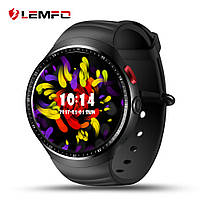 Умные cмарт часы Smart Watch Lemfo LES1, Wi-Fi, GPS Android 5.1