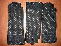 Женские перчатки Корона с начесом. Бамбук