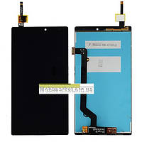 Модуль (сенсор + дисплей LCD) Lenovo A7010 X3 Lite /Vibe K4 Note original чорний