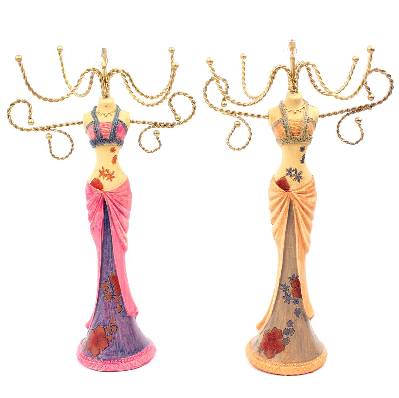 Подставка манекен под бижутерию и украшения в восточном стиле