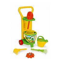 """Игровой набор с тележкой Wader """"Маленький садовник"""" (10770)"""