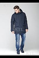 Теплая мужская зимняя куртка на синтепухе