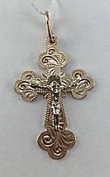 Крест золотой 585 пробы