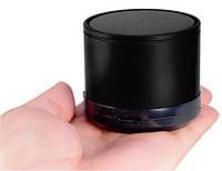 Портативна bluetooth колонка HLD-600 MP3 плеєр S-10U Black, фото 1
