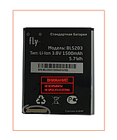 Аккумулятор Fly IQ442 Quad Miracle 2 (BL5203) 1500 mAh Original
