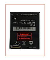 Аккумулятор Fly IQ442 Quad Miracle 2 (BL5203) 1500 mAh Original