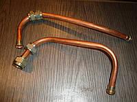 Трубка масляного фильтра  Газ 53 (комплект  впускная +выпускная) Россия