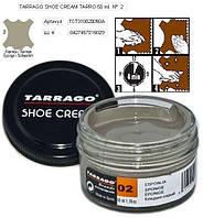 Крем для гладкой кожи Tarrago Shoe Cream, 50 мл, цв. бледно серый