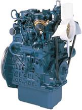 Дизель  Z602-E2B  кВт / л.с .: 12,5 / 16,8; об/мин: 3600; Эмиссия: EPA / CARB Tier 2
