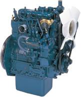 Дизель  D722-E2B  КВт / л.с .: 14,9 / 20,0; об/мин: 3600; Эмиссия: EPA / CARB Tier 2