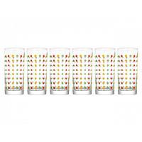 """Набор стаканов стекло """"Luminarc. Amsterdam Color Art""""  270мл №N0033/96304"""