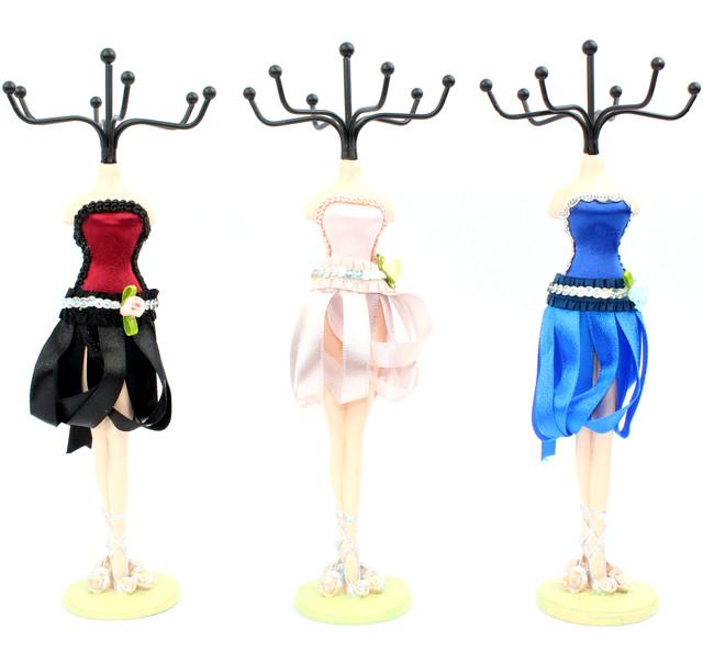 подставка для бижутерии балерина