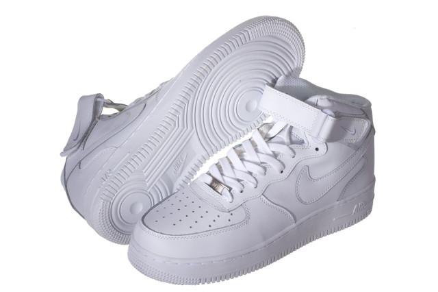 Кроссовки мужские Nike Air Force белые