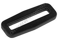 Пряжка рамка 38 мм пластик, цв. чёрный, арт. РП/1-3804