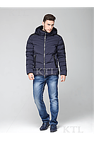 Стильная зимняя мужская куртка нано-пух CW17MD0112CK