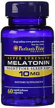 Гормон сна мелатонин, Puritsan's Pride, Melatonin 10 мг 60 капсул