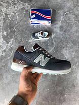Женские кроссовки New Balance ML574BCB Denim, Нью беланс 574, фото 2