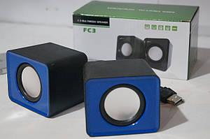 Компьютерные активные USB  колонки FС3
