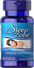 Комплекс для сна, Puritan's Pride Sleep Zone® 60 Capsules