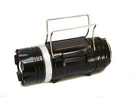 Кемпинговая LED лампа SB-9699 фонарик с солнечной панелью, фото 2