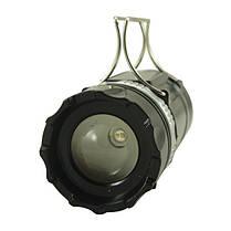 Кемпинговая LED лампа SB-9699 фонарик с солнечной панелью, фото 3