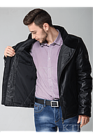 Зимняя мужская куртка нано-пух