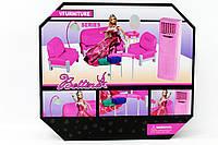 Мебель 668621522825 18шт2 для гостиной, с куклой,диван,2кресла,столик,трюмо,кондиц,в кор.3610,532см