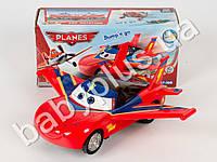 Машинка инер-я, Тачки, с крыльями, звук, свет 3D, на бат-ке, в кор-ке 767-398