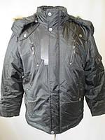 Мужские прямые куртки с капюшоном.